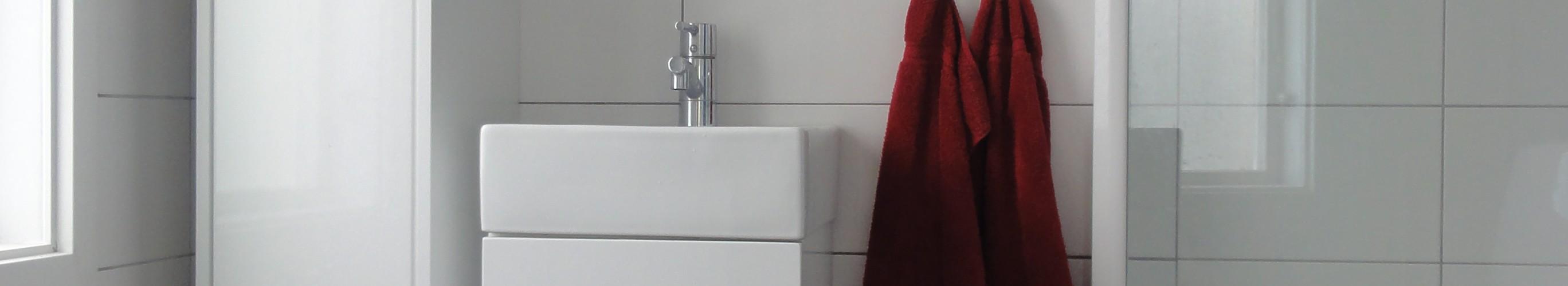 Helkaklat med WC och Tvättmaskin